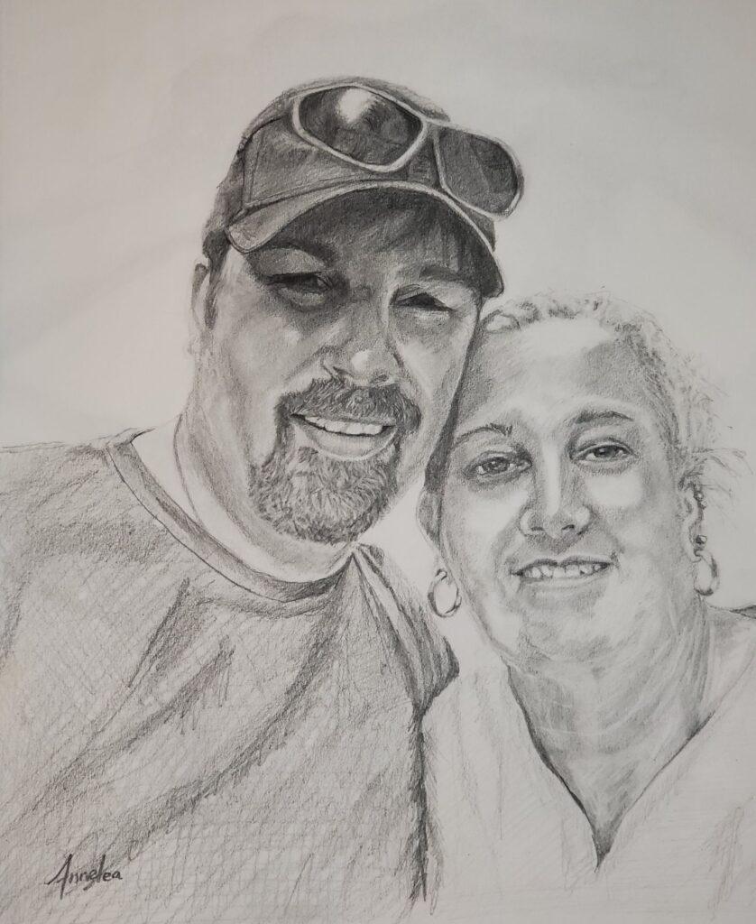 Linda & Hubby